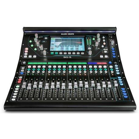Mezcladora digital de audio Allen & Heat SQ-5 de 16 canales