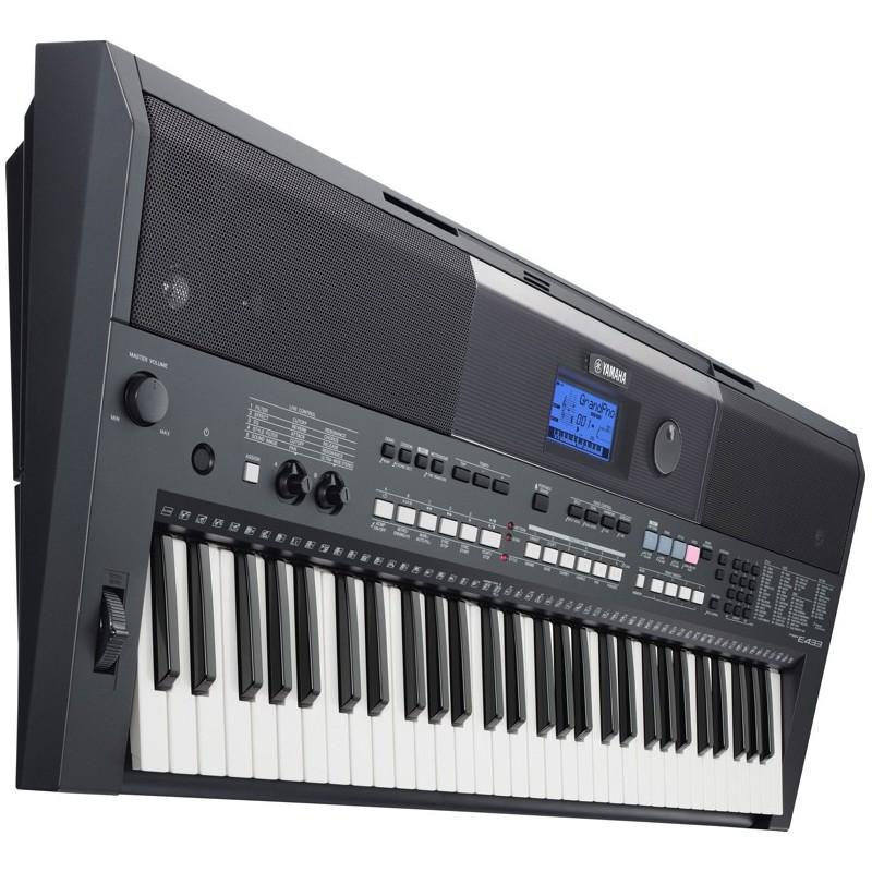teclado portatil yamaha psr e463. Black Bedroom Furniture Sets. Home Design Ideas