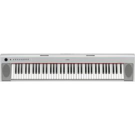 Piano ligero portátil Yamaha NP-32 Plata
