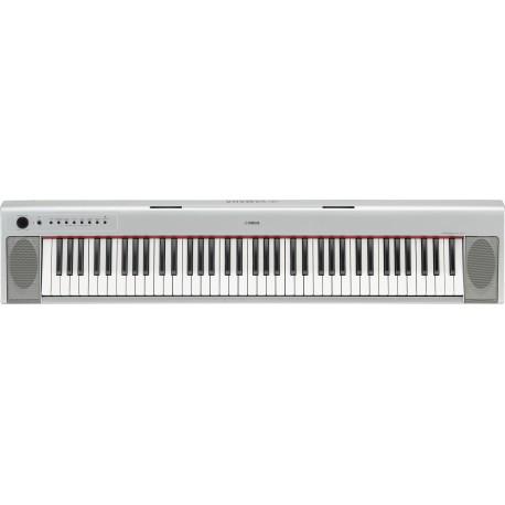 Piano Electrónico Yamaha NP-31 Plata