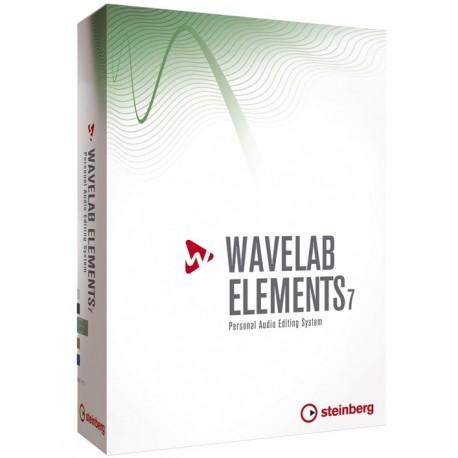 Software Wavelab Elements 7 Sistema de Edición Personal de Audio