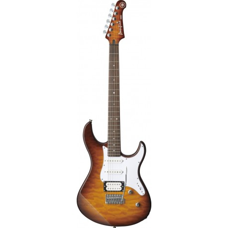 Guitarra Eléctrica Yamaha Pacifica PAC212VQM Tobacco Brown Sunburst