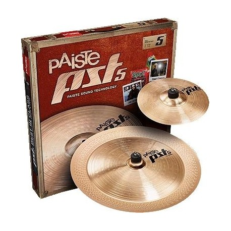 "Paquete de platillos Paiste PST 5 Effects Pack (10""Splash / 18"" China)"