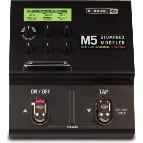 Pedal de Efectos Line 6 M5 Stompbox Modeler