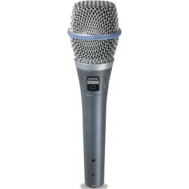 Micrófono Shure Beta 87C