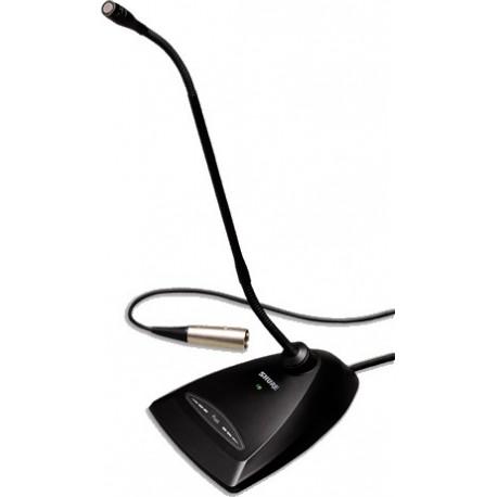 Micrófono Cuello de Ganso Shure con Base MX412D