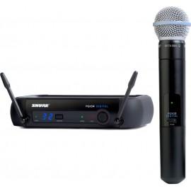 Sistema Micrófono Inalámbrico Digital Shure PGXD24/BETA58A