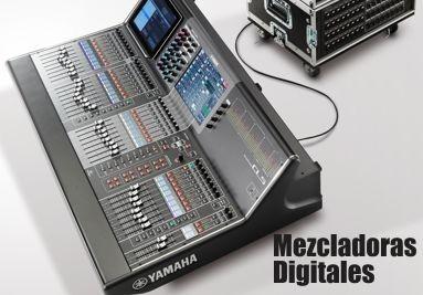 Mezcladoras Digitales